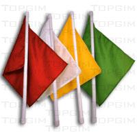 Bandeirola para juiz