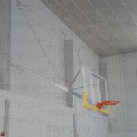 Unidade de basquetebol basculante para parede