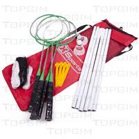Conjunto para a prática de badminton