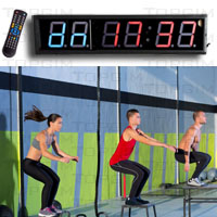 CrossTraining Timer - Relógio-Cronómetro Digital para CrossTraining