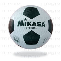Bola de Futebol Mikasa Borracha com Nylon