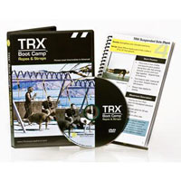 TRX - DVD Bootcamp Ropes & Straps