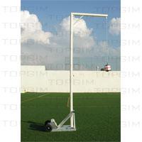 Sistema de treino de impulsão vertical (cabeceamento)
