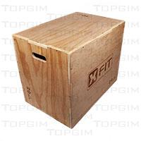 Caixa em madeira para treino pliométrico (Plyo box)