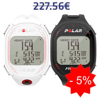 Monitor de frequência cardíaca Polar RCX3 GPS