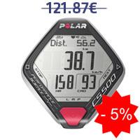 MMonitor de frequência cardíaca Polar CS500+