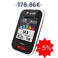 Monitor de frequência cardíaca para ciclismo Polar V650