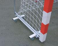 Carro para o transporte de balizas de andebol e futsal