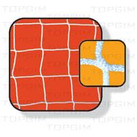 Par de Redes para baliza de Futsal - Competição
