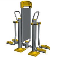 Equipamento de Fitness para publicidade - Pêndulo