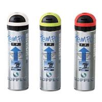 Tinta em spray para marcação temporária de linhas