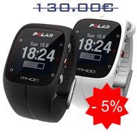 Monitor de frequência cardiaca Polar M400