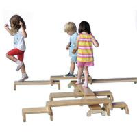 Conjunto de 10 bancos para ginástica infantil