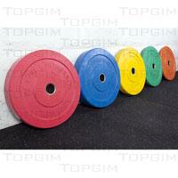 Disco Olímpico Bumper Colorido