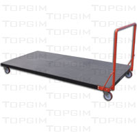 Carro para o transporte de tapetes e colchões