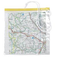 Porta-mapa transparente 30x28cm