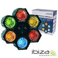 Projector Luz C/ 6 Módulos 47 Leds IBIZA