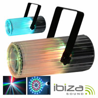 Projector Luz c/ 56 Leds RGBAW Transparente MIC IBIZA