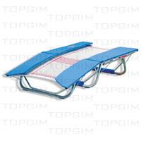 "Zona de salto em fitas de nylon de 13mm c/ 292 x92cm p/ Duplo mini-trampolim ""DMT190""."