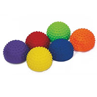 Conjunto de 6 semiesferas tácteis para treino de equilíbrio