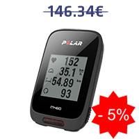 Monitor de frequência cardíaca para ciclismo Polar M460