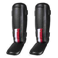 Par de caneleiras com protecção do pé