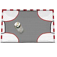 Parede em rede para treino de remate livre ou de grande penalidade no andebol ou futsal
