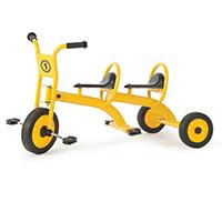 Triciclo Escolar Duplo