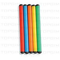 Conjunto de 5 varas de fundo coloridas