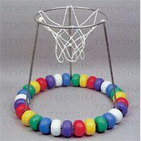 Cesto de basquetebol flutuante em inox