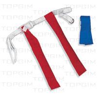 Kit de 8 cintos com fitas para Tag Rugby