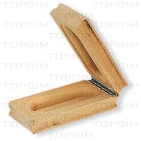 Sinalizador de partida em madeira