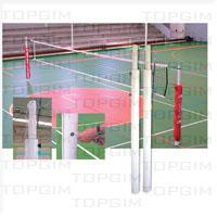 Par de Postes de Voleibol Alta Competição