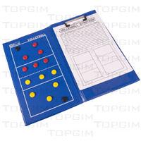 Quadro Táctico magnético tipo pasta para Voleibol