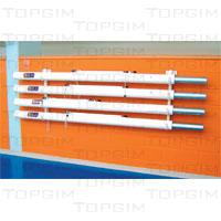 Suporte de parede para postes de voleibol