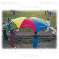 Paraquedas de grandes dimensões