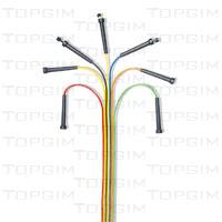 Corda de saltar em PVC, com pegas