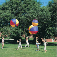 Bola flutuante com balão de látex no interior
