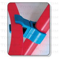 Fixador multidireccional bastão/arco redondo.