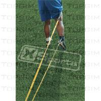 Par de elásticos para tracção da perna