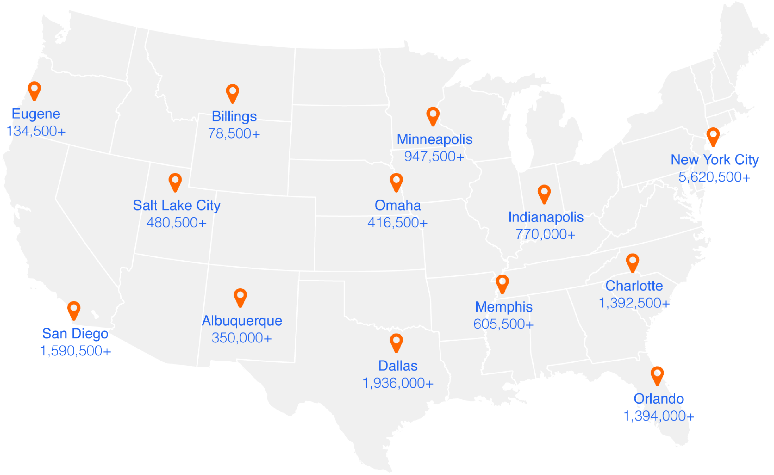 Numbers Shown Are Visitors Who Performed A Job Search On Indeed In The Past Year As Of July 2017