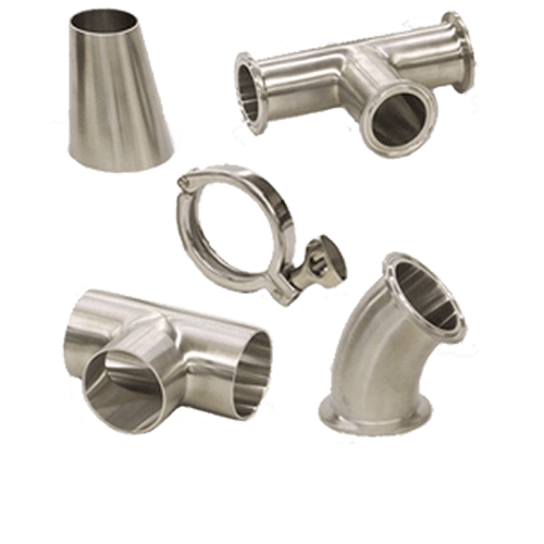 Stainless Steel Sanitary Fittings & Clamps