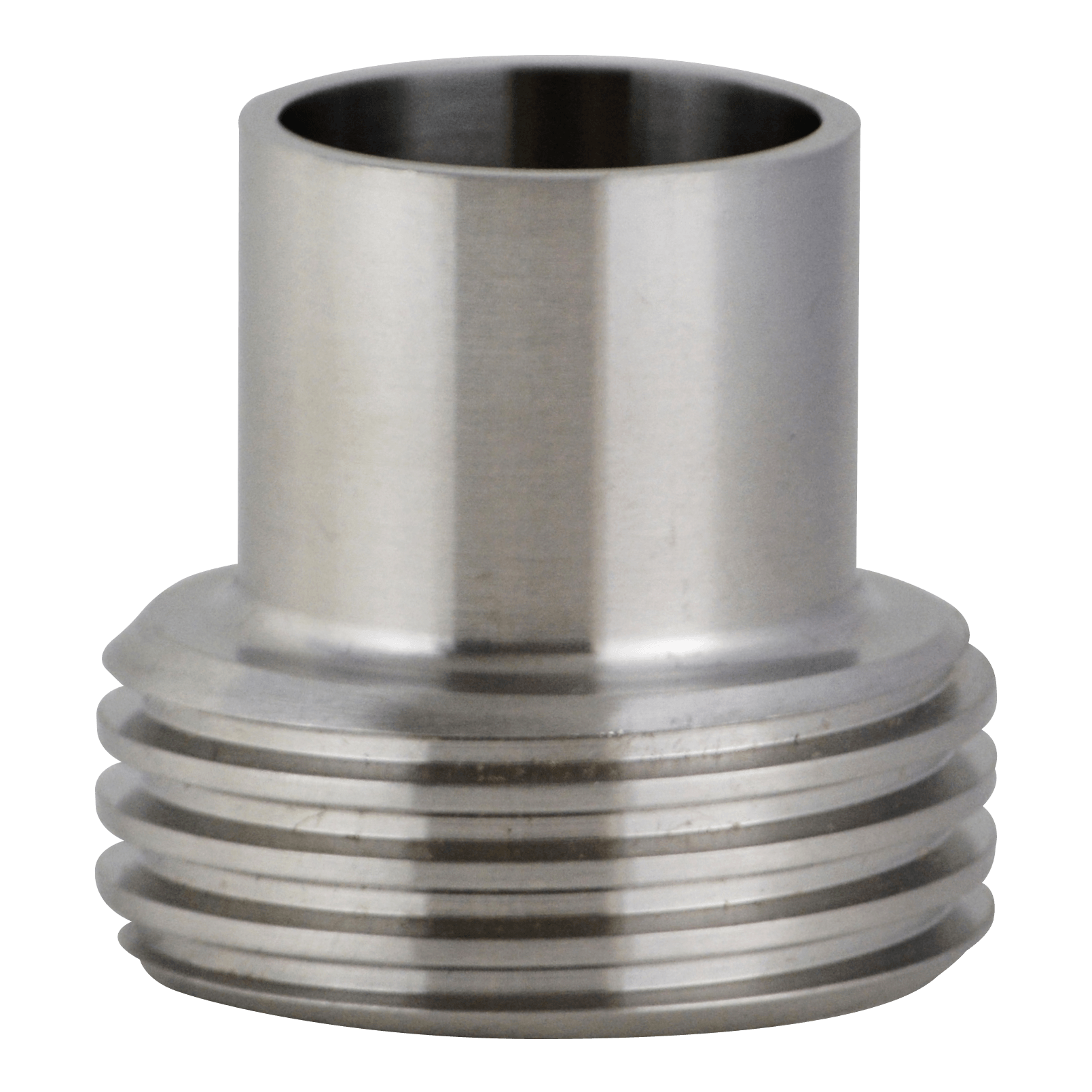 L a ″ ferrule long bevel seat threaded end weld