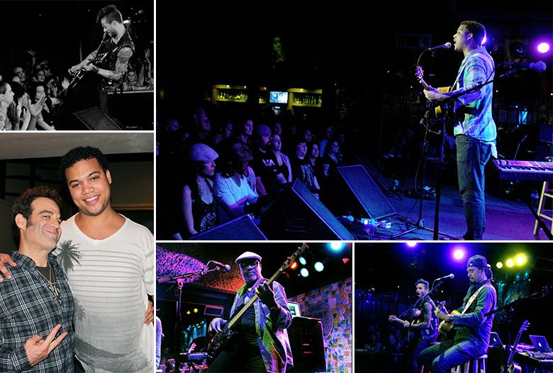 Michael Franti sold out the Belly Up