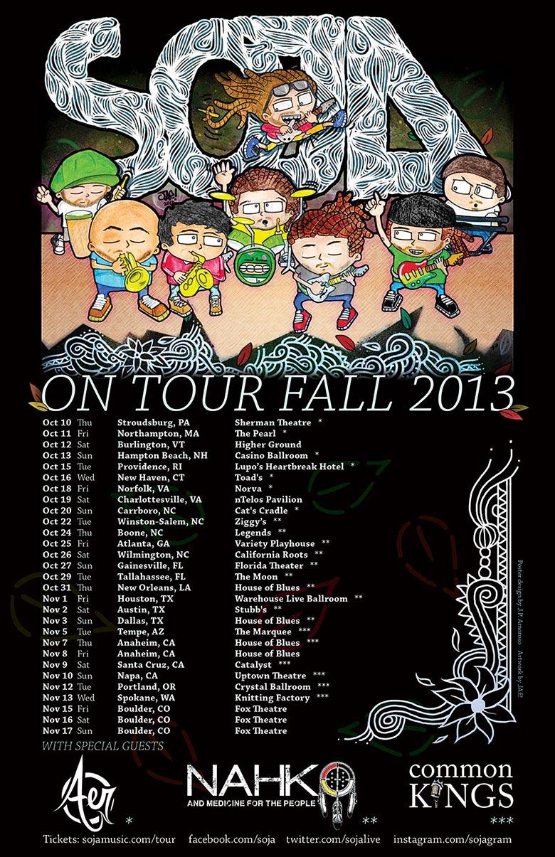 Soja tour dates