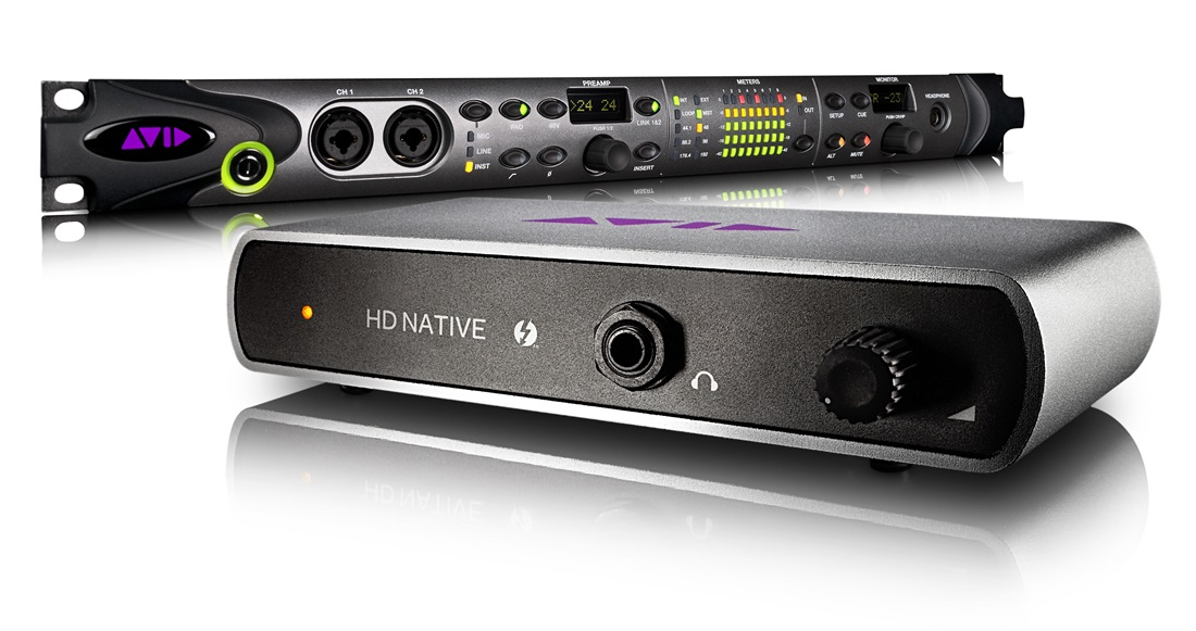 Drivers for Avid Audio hardware