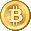 Bitcoin Logo (Gold)