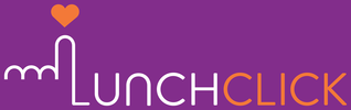 LunchClick Logo (Purple Landscape)