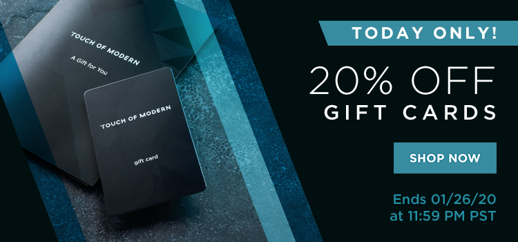 20200126: 20% Off Gift Cards