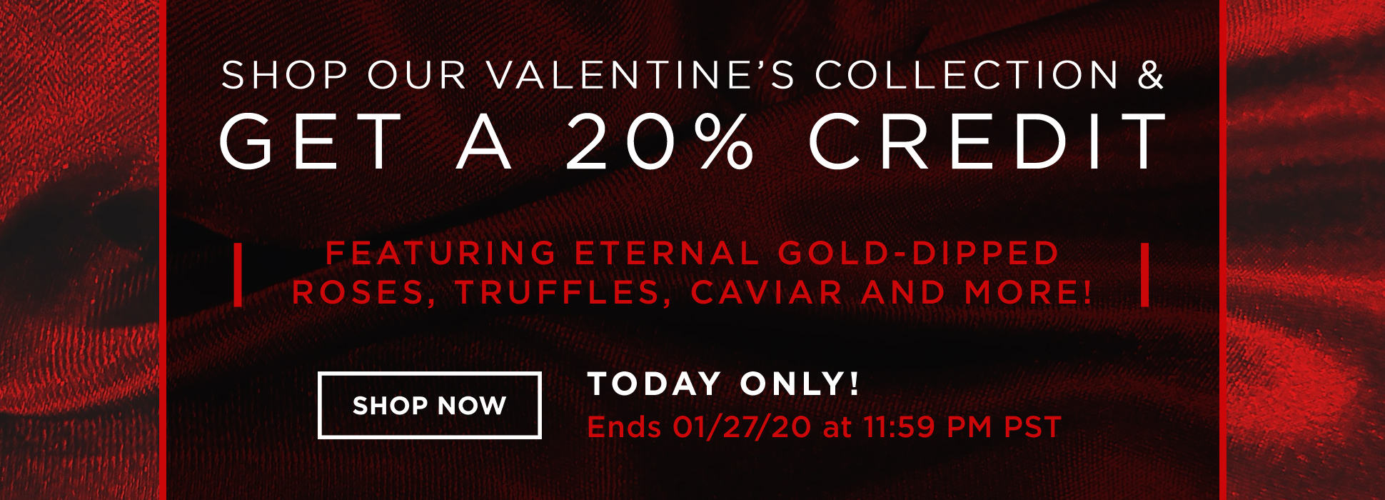 20200127: VDay Store Promo 20% Credit